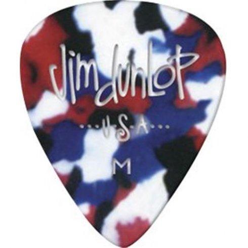 Jim Dunlop Celluloid Confetti Medium Gauge 12-Pack of Plectrums