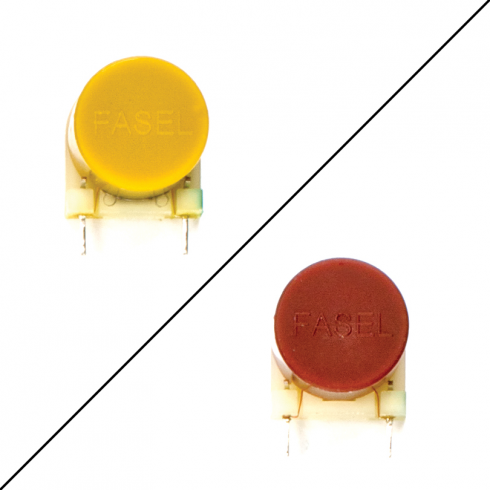 Cry Baby® Fasel Inductor, Red & Yellow