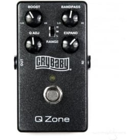 Jim Dunlop Cry Baby® Q-Zone™ Auto-Wah Guitar Effects Pedal