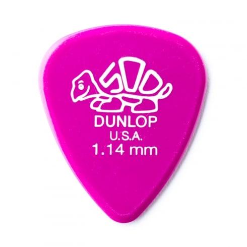 Jim Dunlop Delrin 500 Standard 1.14mm Guitar Pick Player Pack of 12