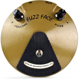 Jim Dunlop EJF1 Eric Johnson Signature Fuzz Face Distortion Pedal