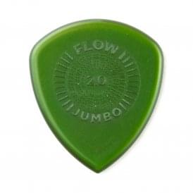 Jim Dunlop Flow Jumbo Guitar Picks 2.0mm, 3-Pack