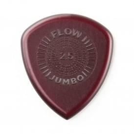 Jim Dunlop Flow Jumbo Guitar Picks 2.5mm, 3-Pack