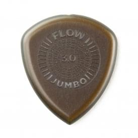 Jim Dunlop Flow Jumbo Guitar Picks 3.0mm, 3-Pack