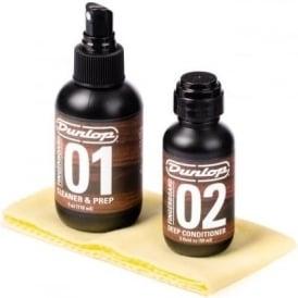 Jim Dunlop Formula No. 65 Fingerboard Cleaning Kit, 4oz