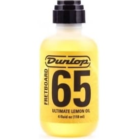 Jim Dunlop Formula No. 65 Fretboard, Ultimate Lemon Oil, 4oz