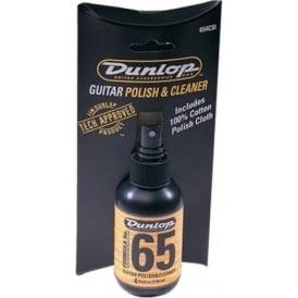 Jim Dunlop Formula No. 65 Guitar Polish & Cloth Combo Kit, 4oz