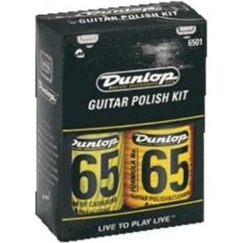 Jim Dunlop Formula No. 65 Guitar Polish Maintenance Care Kit, 4oz
