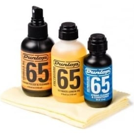 Jim Dunlop Formula No. 65 Guitar Tech Care Kit System