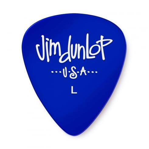 Jim Dunlop Gels Light Gauge 12-Pick Player Pack (Blue) 486PLT