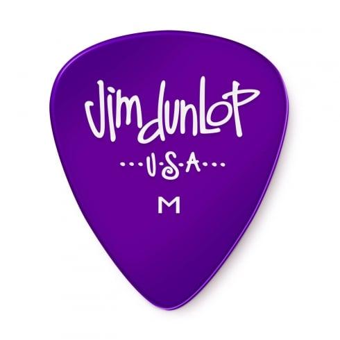 Jim Dunlop Gels Medium Gauge 12-Pick Player Pack (Purple) 486PMD Guitar Plectrums