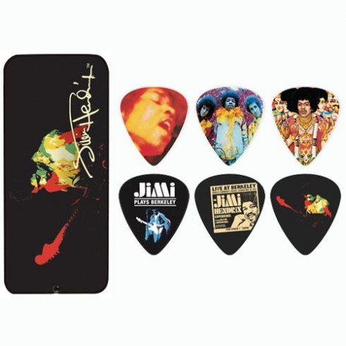 Jim Dunlop Hendrix Band of Gypsys Collector Tin 12-Pack (Heavy)