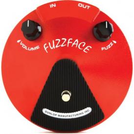 Jim Dunlop JDF2 Fuzz Face Distortion Pedal