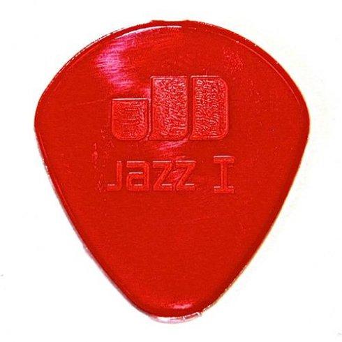 jim dunlop jim dunlop jazz 1 red guitar pick round tip jim dunlop from strings direct uk. Black Bedroom Furniture Sets. Home Design Ideas