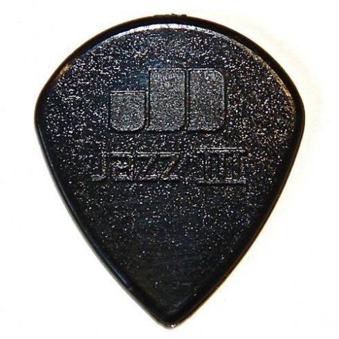 jim dunlop jim dunlop nylon jazz 3 black stiffo guitar picks 47r3s jim dunlop from strings. Black Bedroom Furniture Sets. Home Design Ideas
