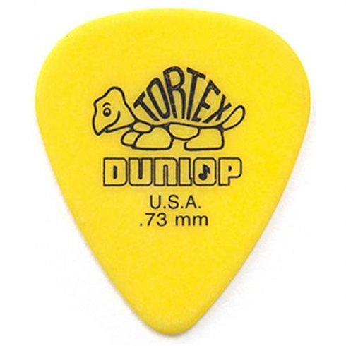 jim dunlop tortex standard 73mm yellow guitar pick. Black Bedroom Furniture Sets. Home Design Ideas