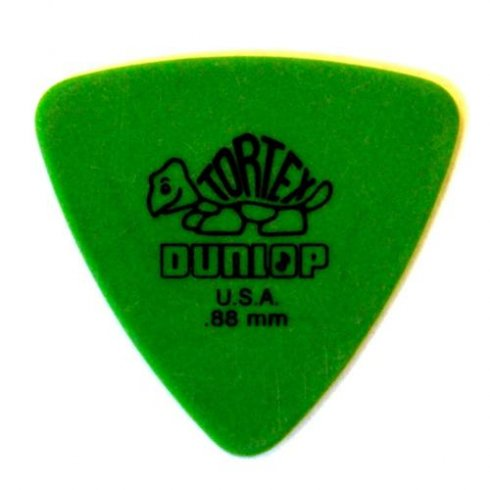 jim dunlop jim dunlop tortex triangle guitar pick 88mm green jim dunlop from strings direct uk. Black Bedroom Furniture Sets. Home Design Ideas