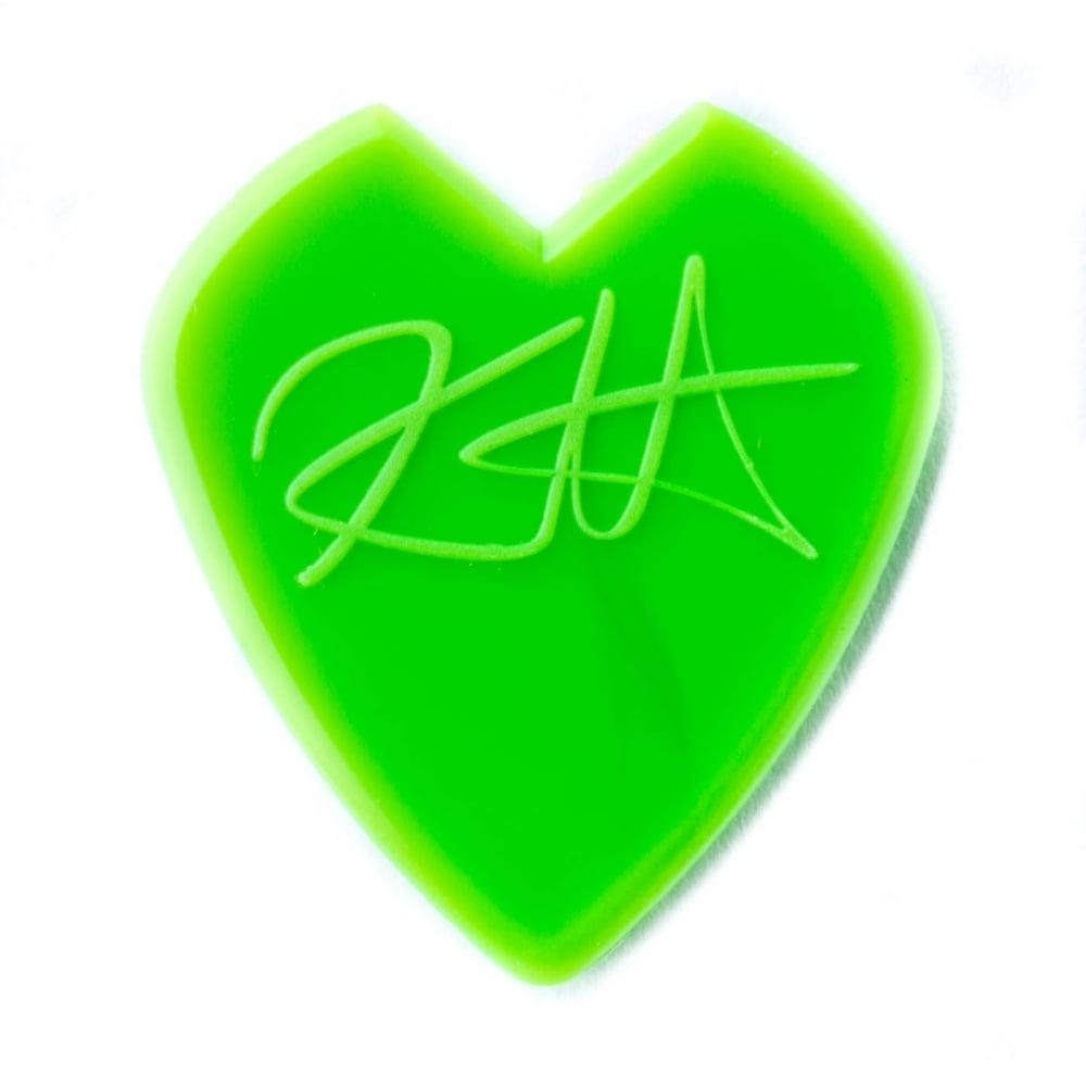 jim dunlop kirk hammett signature jazz iii green guitar picks pack. Black Bedroom Furniture Sets. Home Design Ideas