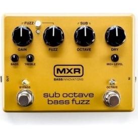 MXR Sub Octave Bass Fuzz Pedal M287