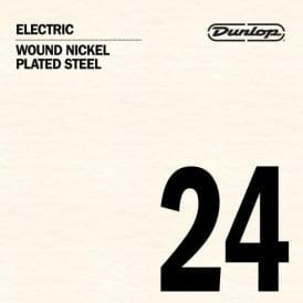 Jim Dunlop Nickel Plated Wound Single Strings (Gauges .024-.056)