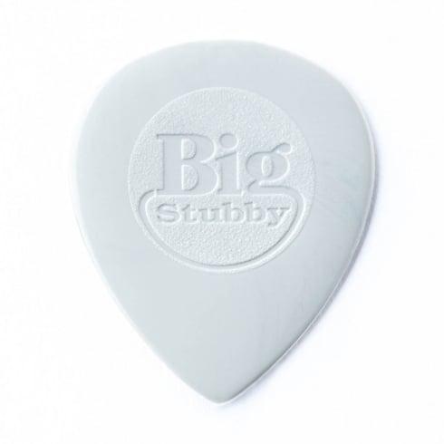Jim Dunlop Nylon Big Stubby 1mm Plectrum Players Pack of 6