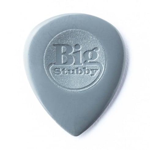 Jim Dunlop Nylon Big Stubby 2mm Plectrum Players Pack of 6