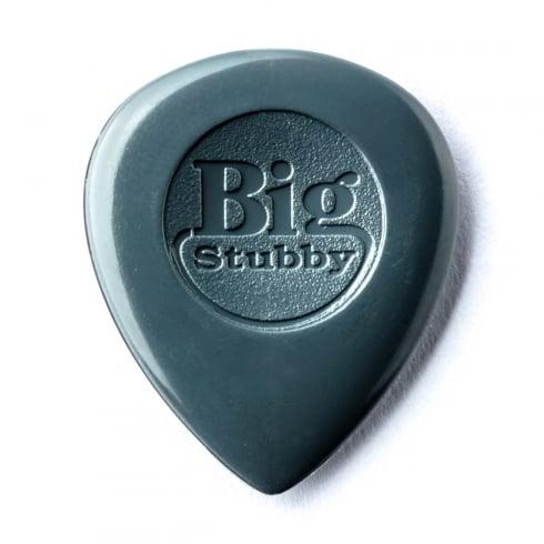 Jim Dunlop Nylon Big Stubby 3mm Plectrum Players Pack of 6