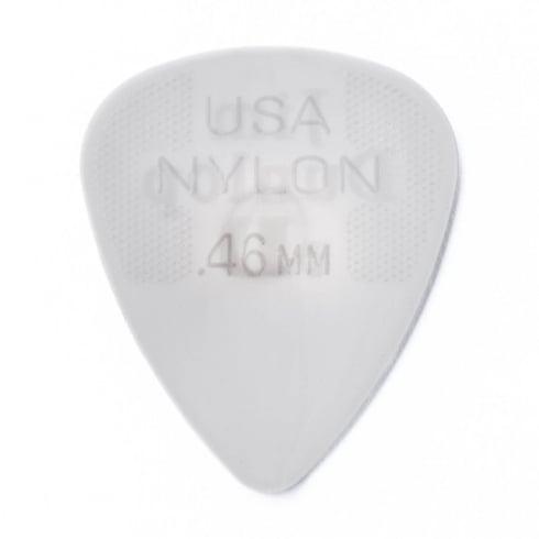 Jim Dunlop Nylon Standard Guitar Pick 0.46mm, 72-Pack