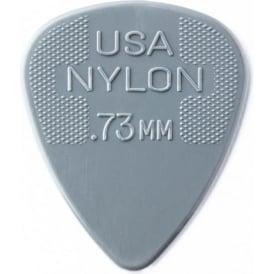 Jim Dunlop Nylon Standard Guitar Pick 0.73mm, 72-Pack