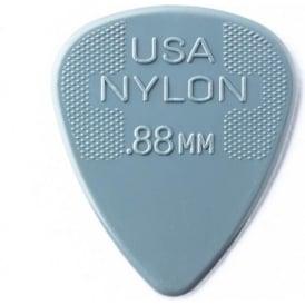 Jim Dunlop Nylon Standard Guitar Pick 0.88mm, 72-Pack