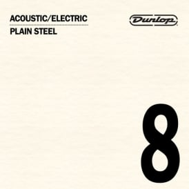 Jim Dunlop Plain Steel Single String .008