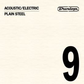 Jim Dunlop Plain Steel Single String .009