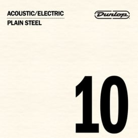 Jim Dunlop Plain Steel Single String .010