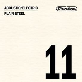 Jim Dunlop Plain Steel Single String .011