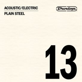 Jim Dunlop Plain Steel Single String .013