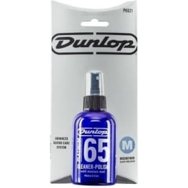 Jim Dunlop Platinum 65 Guitar & Bass Cleaner-Polish with Cloth, 4oz
