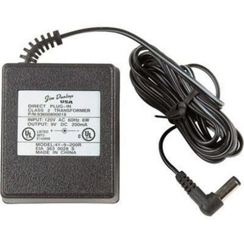 Jim Dunlop Power Supply ECB003UK 9v 670m AC Power Adapter