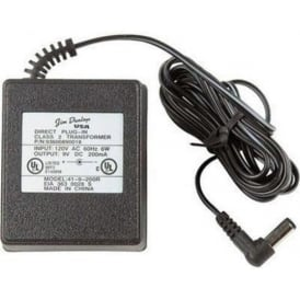 Jim Dunlop Power Supply ECB003UK 9v 670m AC Power Adapter