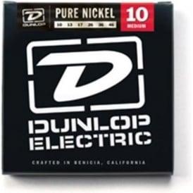 Jim Dunlop Pure Nickel Electric Guitar Strings 10-46 Medium