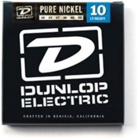 Jim Dunlop Pure Nickel Electric Guitar Strings 10-52 Light Heavy