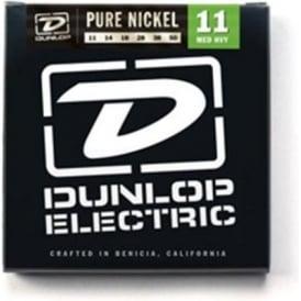 Jim Dunlop Pure Nickel Electric Guitar Strings 11-50 Med Heavy
