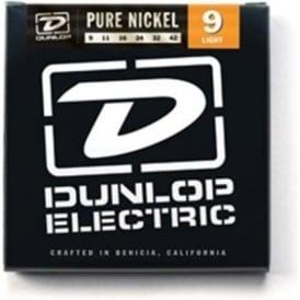 Jim Dunlop Pure Nickel Electric Guitar Strings 9-42 Light 6-String