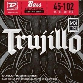 Jim Dunlop Robert Trujillo 4-String Icon Series Bass Guitar Strings 45-102 Tapercore