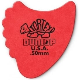 Jim Dunlop Tortex Fins .50mm - 6-Pack (Red)
