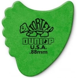 Jim Dunlop Tortex Fins .88mm - 6-Pack (Green)