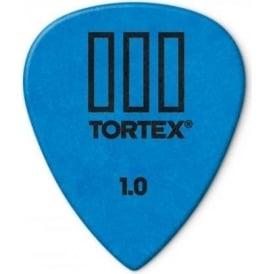 Jim Dunlop Tortex III Guitar Picks 1mm Blue Player Pack of 12 462P100
