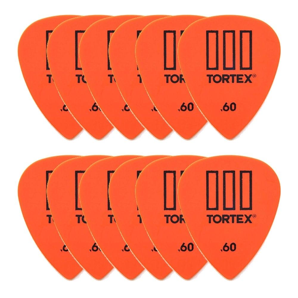 jim dunlop tortex iii guitar picks 60mm player pack of 12 462p135. Black Bedroom Furniture Sets. Home Design Ideas