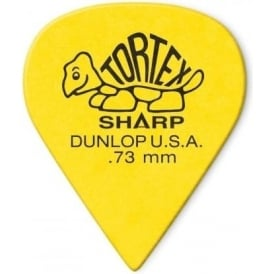 Jim Dunlop Tortex Sharp Player Pack of 12 Guitar Picks - Made in the USA