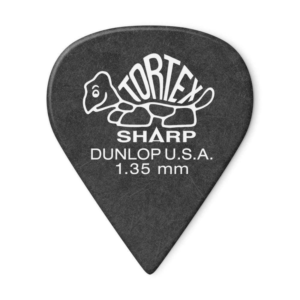 jim dunlop tortex sharp player pack of 12 guitar picks made in the usa. Black Bedroom Furniture Sets. Home Design Ideas
