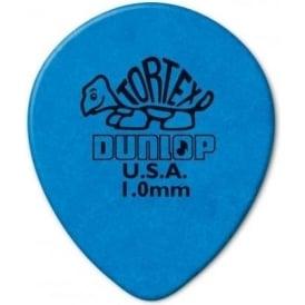 Jim Dunlop Tortex Teardrop 1.00mm (6-Pack) - Blue
